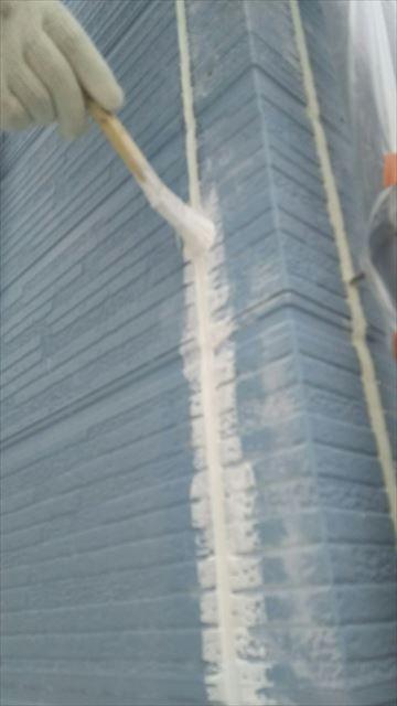 岐阜市外壁下塗り