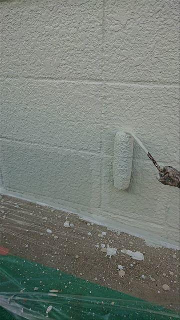 笠松町基礎塗装
