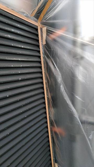 養老町雨戸塗装