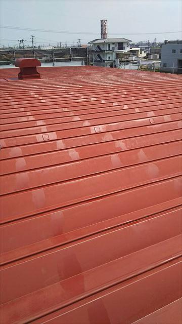 工場屋根塗装