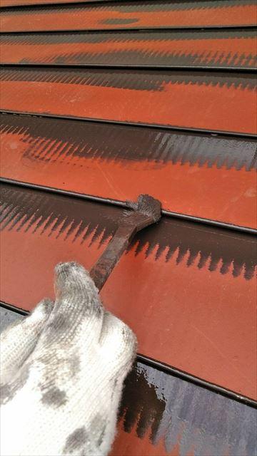 岐阜市下屋根塗装