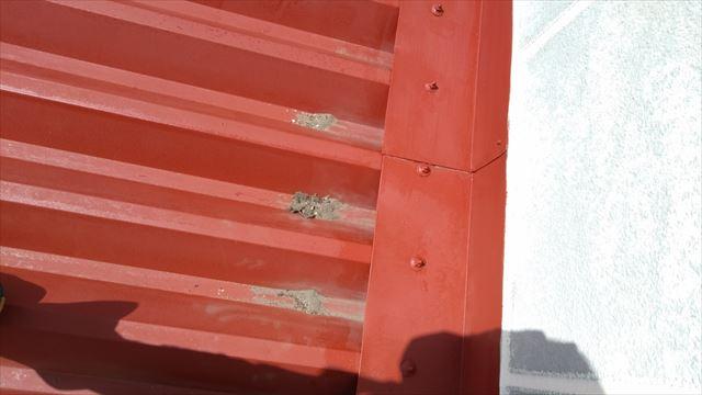 大垣市内の屋根塗装作業