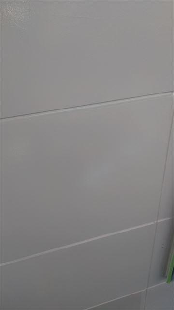 岐阜市外壁中塗り作業