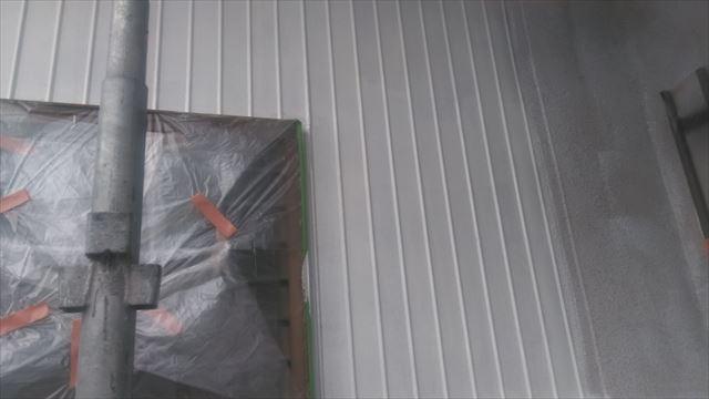 岐阜市外壁下塗り作業