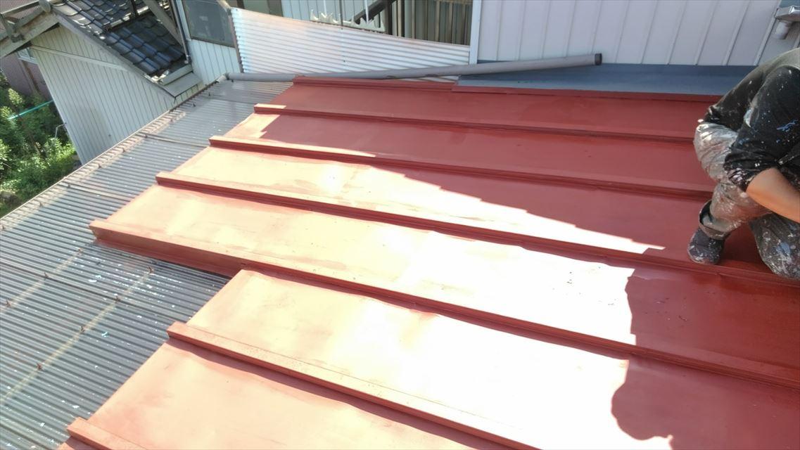 岐阜市屋根塗装