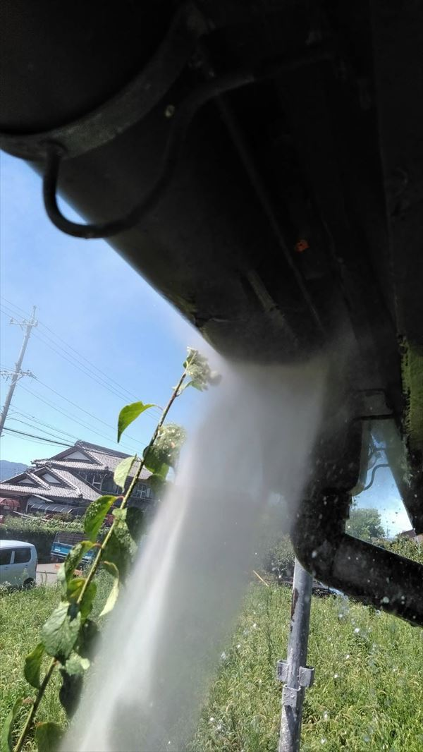岐阜市の高圧洗浄