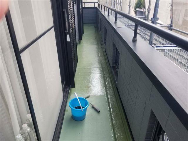 FRP防水塗り替え