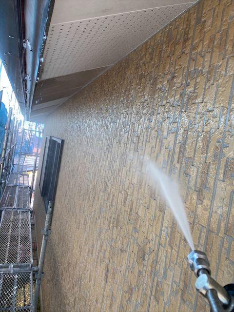 瑞穂市高圧洗浄作業